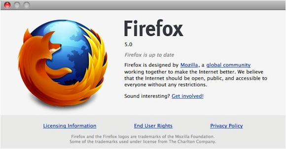 Firefox 5 Official Release Date on June 21; Free beta download now available