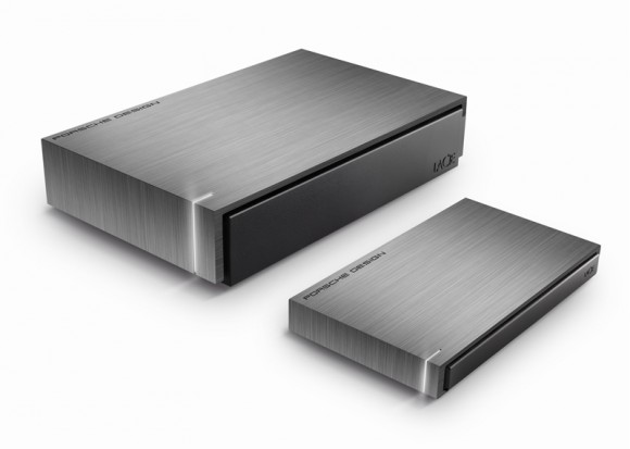 LaCie and Porsche Design USB 3.0 Mobile Hard Drive P9220 and Desktop Hard Drive P9230 released