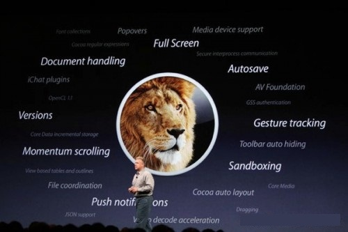 Mac OS X Lion features announcement OS X Lion release date on July; priced as $29.99 in Mac App Store