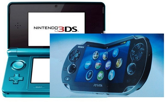 Nintendo 3DS vs. PlayStation Vita Nintendo 3DS vs. PlayStation Vita Specs Comparison   E3 2011