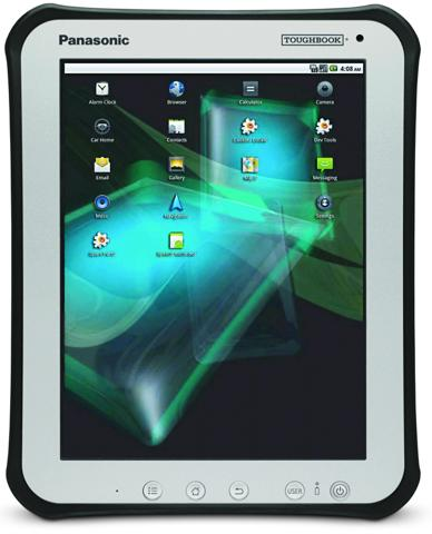 "Panasonic ToughBook 10"" rugged Android Tablet unveiled"