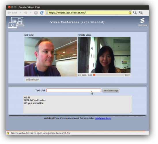 Google WebRTC Video and Voice Chat Developer Preview released