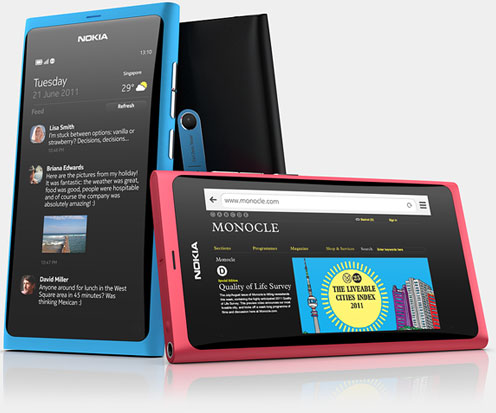 Nokia N9 release Date September 23 in Sweden; N9 NFC Capabilities a Video