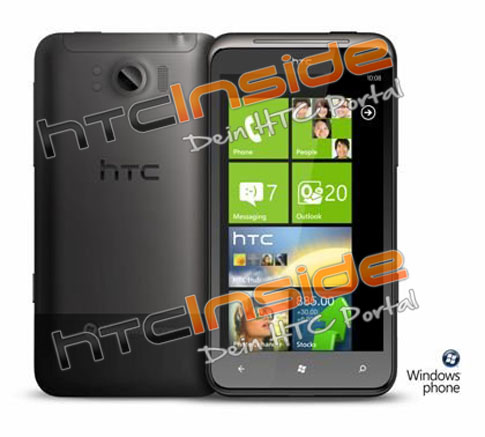 HTC Eternity WP7 Mango Smartphone spotted; Specs revealed