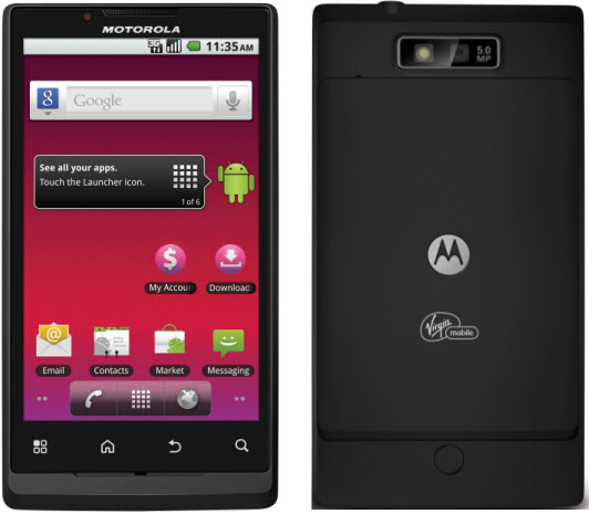 Virgin Mobile Motorola Triumph Release Date to be July 19