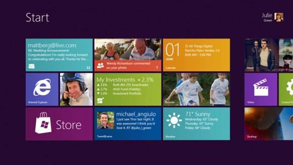 Microsoft Windows 8 OS with or without touch and/or a keyboard previewed (Video)