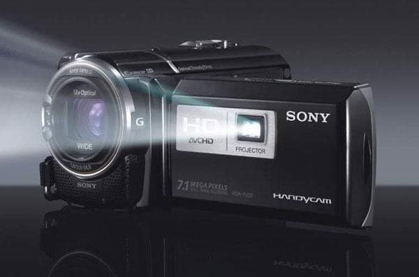 Sony releases Sony Handycam HDR-PJ50 with Built-in Projector; Specs and Price