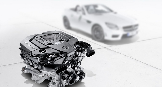 2012 Mercedes Benz SLK55 AMG Details revealed; gets 422HP 5.5-liter V8