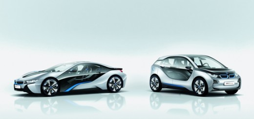 BMW unveils i3 EV and i8 Hybrid Sportscar (Video)