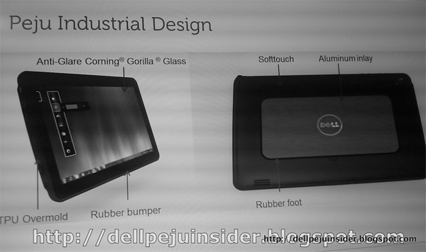 "Video of Dell Peju 10.1"" Windows 7 Tablet spotted online"