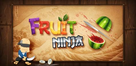 Fruit Ninja Free for Android hits Android Market