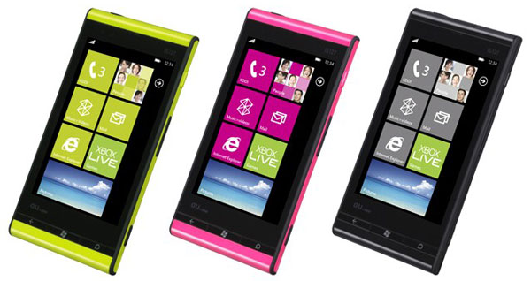 Toshiba-Fujitsu unveils IS12T-first Windows Phone Mango Smartphone; Specs and expected Release