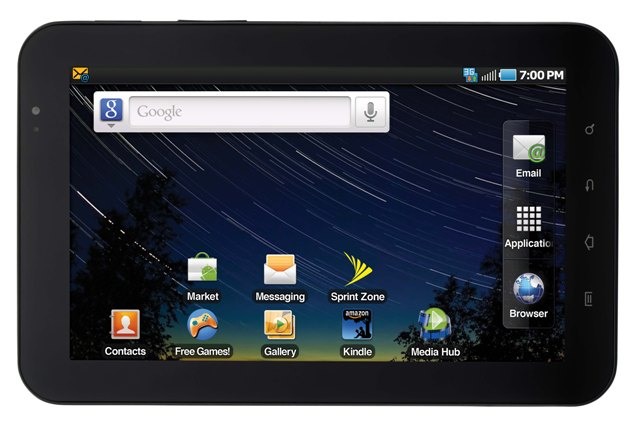 """Sprint 7"""" Samsung Galaxy Tab Android Gingerbread OTA Update releases"""