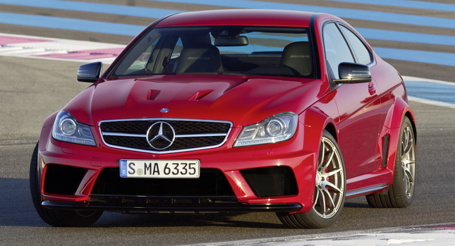 Mecedes-Benz C63 AMG Coupe Black Series unveiled; releasing in January 2012