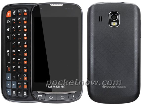 Samsung Transformer SPH-M920 QWERTY Slider Android Smartphone for Boost Mobile spotted