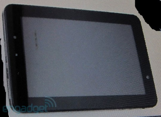 Lenovo IdeaPad 7 tablet images spotted online