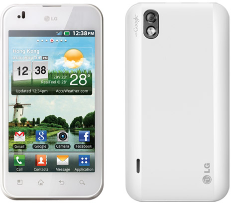 LG Optimus White Smartphone goes on Pre-order in UK