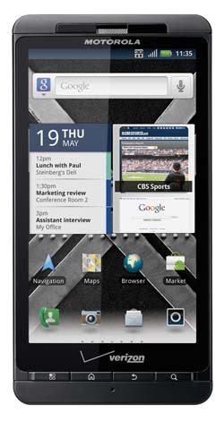 Verizon releases Motorola Droid X2 2.3 Gingerbread Update