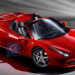2012 Ferrari 458 Spider's First Images spotted; will debut at Frankfurt Auto Show