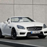 First Images of 2012 Mercedes-Benz SLK55 AMG spotted; debuts at Frankfurt Auto Show
