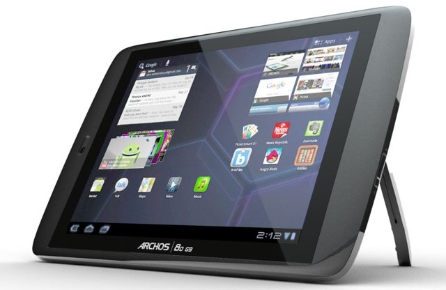 Archos G9 Honeycomb Tablet to come with 250GB of Storage Capacity
