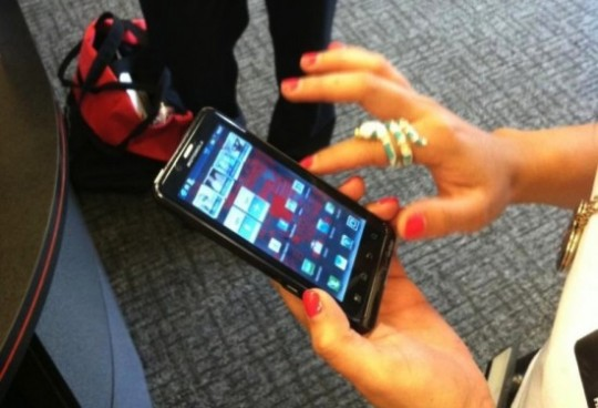 Verizon Motorola Droid Bionic 4G Images from Verizon Store spotted