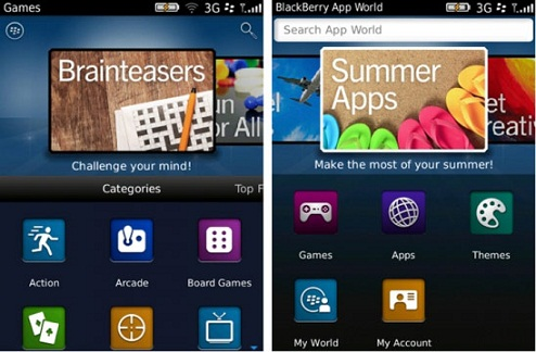 BlackBerry App World 3.0 official Launch date on August 22