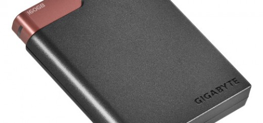 Gigabyte announces A2Tiny 160GB Portable Hard Drive