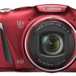 POWERSHOT SX150IS FRT HOR RED