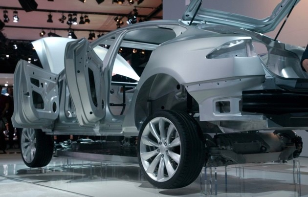 TESLA MODEL X SUV launch date in December; Release Date in 2014 ...