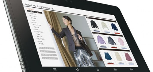 Sharp to release RW-T107 7 inch Gingerbread Tablet with NFC Capability in Japan
