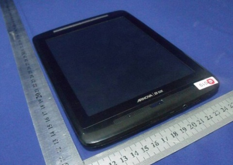 Archos Arnova 8 G2 Android Tablet release soon; Hits FCC‎