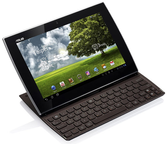 ASUS Eee Pad Slider Specs official; Release expected in September
