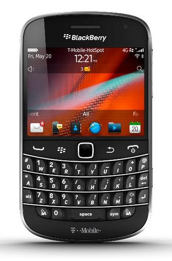 BlackBerry Bold Touch 9900 for T-Mobile release Date August 31?