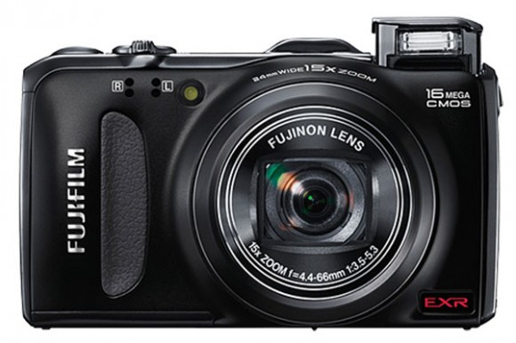 fuji finepix f600 580x386 Fujifilm FinePix F600 EXR Digital Camera released; Specs, Price and Availablity