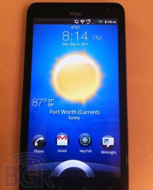 Images of HTC Holiday running on AT&T's LTE Network spotted