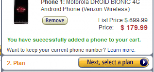 Amazon Deal: Verizon Droid Bionic offered for just $179.99