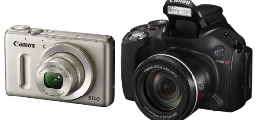 Canon to release PowerShot S100 and SX40 HS High-res Digital Camera; Specs and Price