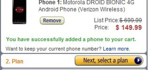 Amazon Deal: Motorola Droid Bionic for just $149.99