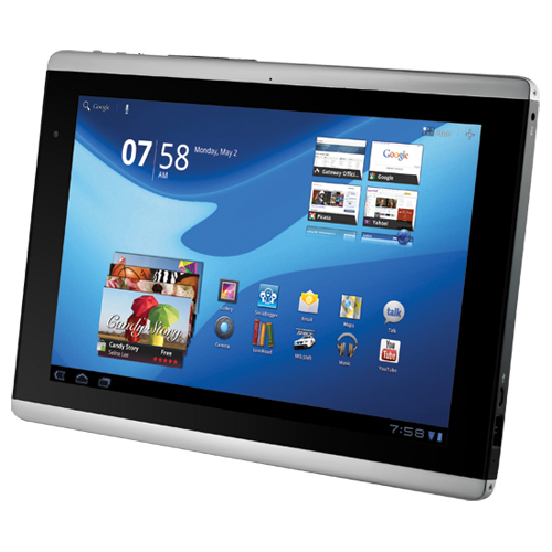 Gateway A60 Honeycomb Tablet goes on Sale; Pricing $399