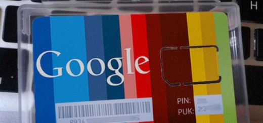 SIM Card with Google Brand spotted in Spain