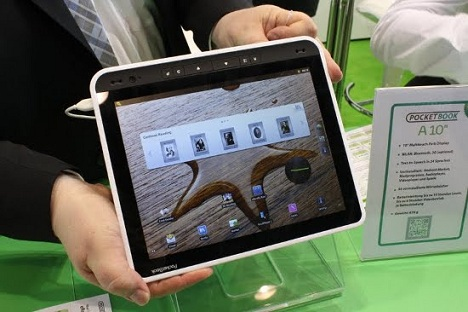 PocketBook A10 Specs, Price and Release date unveiled at IFA 2011