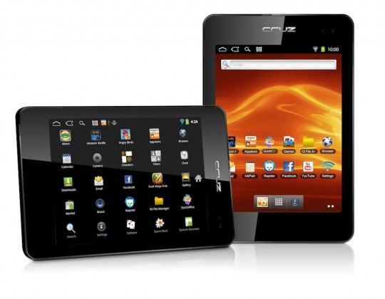 Velocity Micro to release Cruz T408 and T410 Gingerbread Tablets; Specs and Price