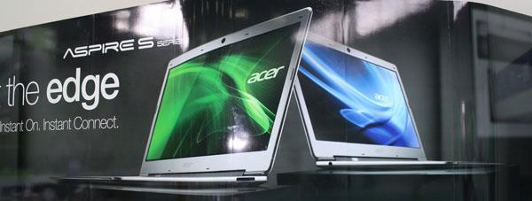 Acer to release Aspire S3 Ultrabook with Core i Processors in September; Specs and Price