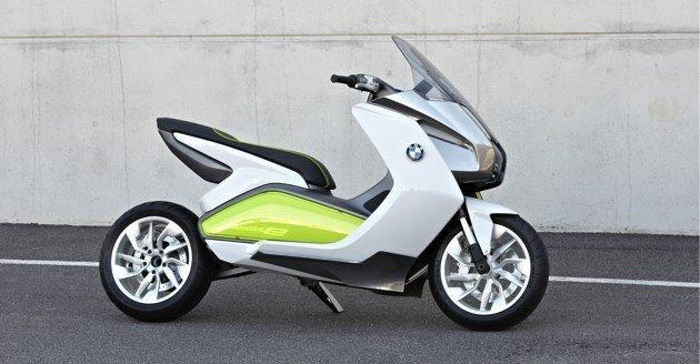 BMW Concept e Scooter at Frankfurt Auto Show