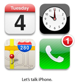 "Apple to debut iPhone 5 on October 4; holds ""Let's talk iPhone"" event"