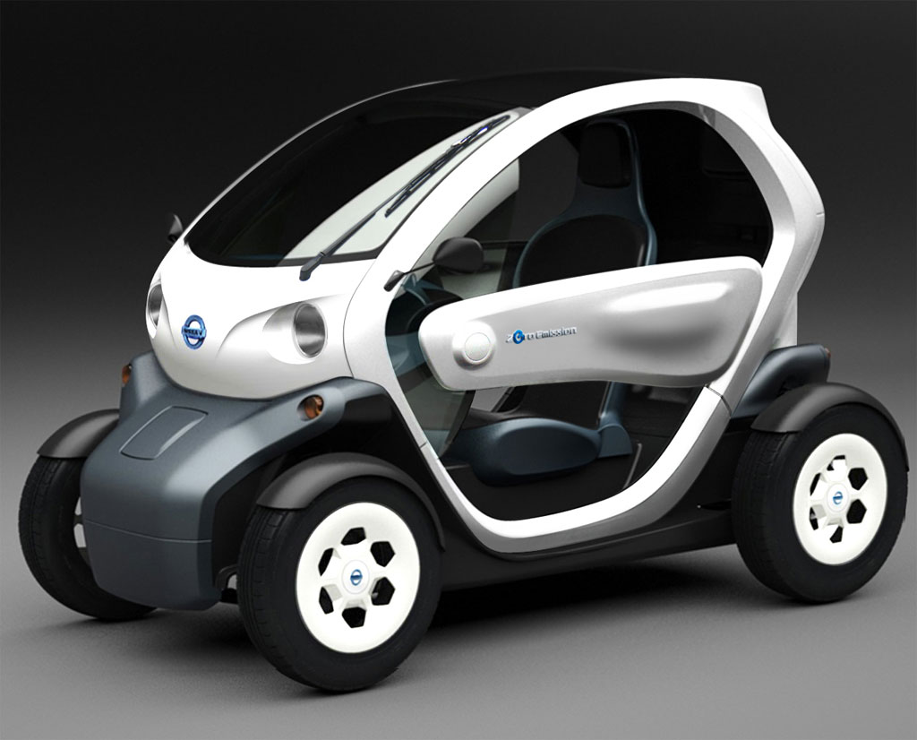 Nissan's New Twizy electric Mobility Concept makes its way to Road in Japan on October 15