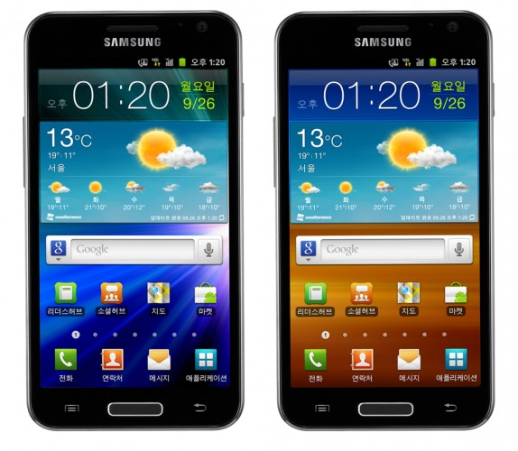 Samsung to release Galaxy S II 4G LTE and HD LTE Smartphones in Korea; Specs revealed