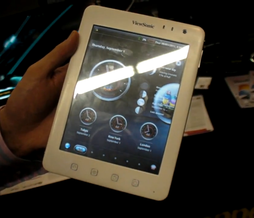 ViewSonic ViewPad 7e Tablet up for Pre-order; Pricing $199