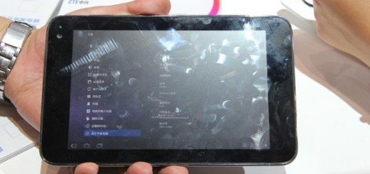 ZTE T98 7 inch Tablet with NVIDIA Kal-El Processor spotted with Specs